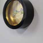 Sally Ann Johns, Blue Tits in Black Frame, Original Artwork 7