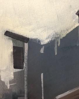 Sam Hewitt, 48:52, Original Oil Painting, Cityscape Art, Figurative Painting 11
