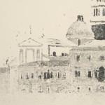 San Giorgio in the mist detail