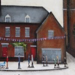 Sean Durkin, Market Place in Deddington, Original Landscape Painting 4