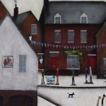 Sean Durkin, Market Place in Deddington, Original Landscape Painting 9