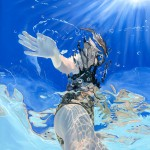 Amy Devlin, Through the Looking Glass Underwater Art for Sale 1