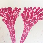 Joanna Padfield Gymnocalycium Linocut Print Wychwood Art 3