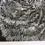 Joanna Padfield Hugo Linocut Print 3