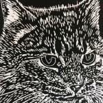 Joanna Padfield Hugo Linocut Print 4
