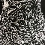 Joanna Padfield Hugo Linocut Print 5