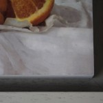Kate Verrion, Two Seville Oranges, Original Still Life Painting, Contemporary Food Art 3