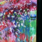 Mary Chaplin, A sunny path at Monet's garden in Giverny detail 6 Wychwood Art