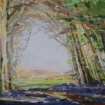 Sarah Ollerenshaw, Thankfulness Eternal, Original Landscape Painting 7