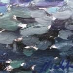 gabriellemoulding, venicesunrise, contemporarylandscapepainting , detail