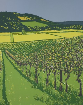 jennifer Jokhoo Box hill from Denbies Wychwood art