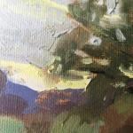 Benedict Flanagan abinger roughs sunset plein air 5