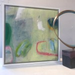 Diane Whalley, Irresistable, Original Abstract Painting, Bright Art