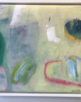 Diane Whalley, Irresistable, Original Abstract Painting, Bright Art 5