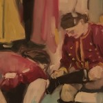 Eleanor Woolley | Dressing | Portraits | Expressionistic | Section 1