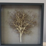 Emma Levine, Fawn Hawthorn, Tree Art, Original Papercut Art