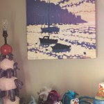 Gordon Hunt. Into the harbour. Impressionist style. In-situ