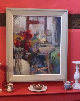 Lucy Powell, A Splash of Colour, Original Impressionist Painting 3