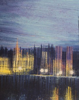 Marc Todd, London Dusk, London Painting