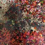 Nicky Chubb, An Autumn Evening Stroll, Original Painting, Lollipop Tree Art, Pop Art 4