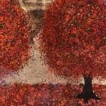 Nicky Chubb, Autumn Evening Stroll, Original Painting.JPG 6