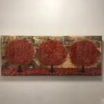 Nicky Chubb, Autumn Evening Stroll, Original Painting.JPG 7