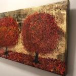 Nicky Chubb, Autumn Evening Stroll, Original Painting.JPG 9