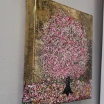 Nicky Chubb, Dancing Blossom Tree, Original Painting, Landscape Art 2