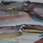 Rosie Phipps, The Cotswolds III, Original Watercolour Painting, Landscape Art 10