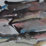 Rosie Phipps, The Cotswolds III, Original Watercolour Painting, Landscape Art 8
