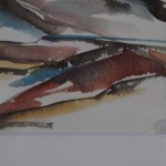 Rosie Phipps, The Cotswolds III, Original Watercolour Painting, Landscape Art 9