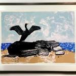 The Cormorant Framed