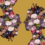 Agent X Queen 1 (Gold)Floral Art