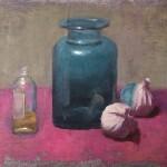 Benedict Flanagan Blue Jar Wychwood Art 1
