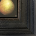 Dani Humberstone, Conference Pear, Original Painting, Food Art, Still Life Painting 6