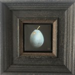Dani Humberstone, Plum Blue, Original Painting, Food Art, Still Life Painting 2