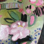 Elaine Kazimierczuk, Apple Blossoms, Forget-Me-Nots and Coltsfoot, Bright Art, Abstract Landscape Paintings 6