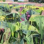 Elaine Kazimierczuk Eremurus, Pink Merton Beds, Wychwood Art