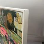 Elainr Kazimierczuk, Fun in the Flower Bed, Abstract Flower Art