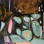 Elainr Kazimierczuk, Fun in the Flower Bed, Abstract Flower Art 2
