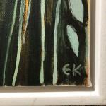 Elainr Kazimierczuk, Fun in the Flower Bed, Abstract Flower Art 4