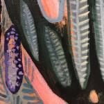 Elainr Kazimierczuk, Fun in the Flower Bed, Abstract Flower Art 9