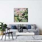 Elainr Kazimierczuk, Sweet Briar, Abstract Flower Art 2