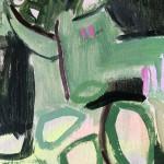 Elainr Kazimierczuk, Sweet Briar, Abstract Flower Art 6