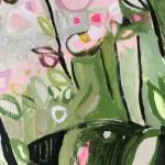Elainr Kazimierczuk, Sweet Briar, Abstract Flower Art 9
