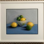 Jonquil Williamon Framed Lemons and Limes Wychwood Art