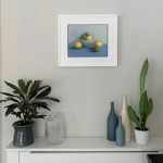 Jonquil Williamon Lemons and Limes in situ Wychwood Art