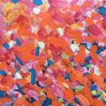 Maples Original Landscape by Rosemary Farrer detail 2