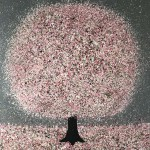 Nicky Chubb, Blossom and Raidrops, Tree Art 12