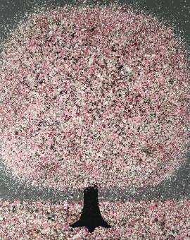 Nicky Chubb, Blossom and Raidrops, Tree Art 12